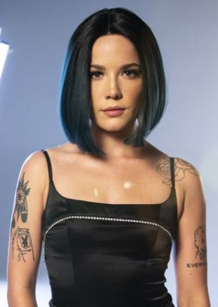 Halsey as Python in Talk to the Animals