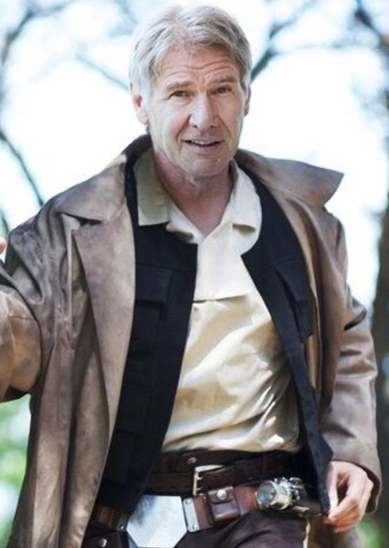 Harrison Ford as Han Solo in George Lucas' Star Wars Sequel Trilogy