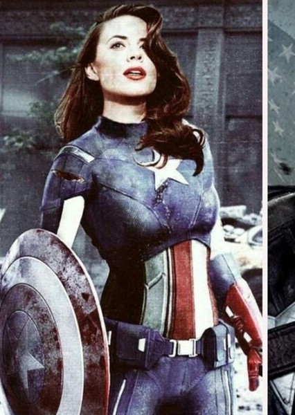 Hayley Atwell as Peggy Carter in Captain  America & Peggy