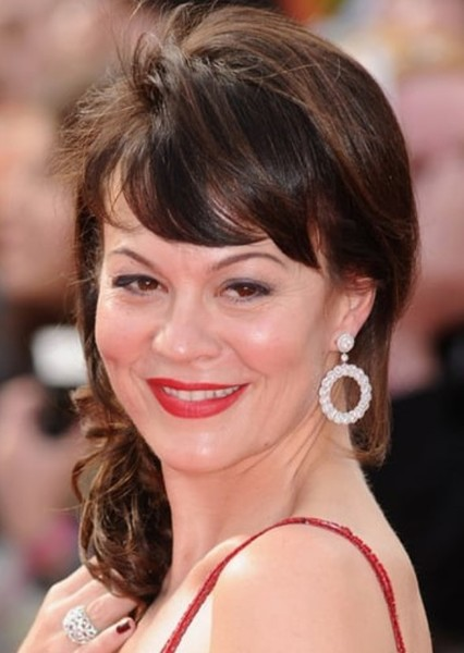 Helen McCrory as Madam Hooch in Harry Potter