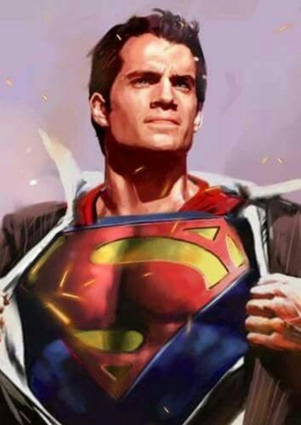 Henry Cavill as Superman in Dc Javelin