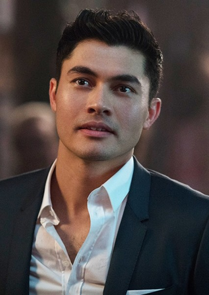 Henry Golding as Maxwell Lord in Blue & Gold: