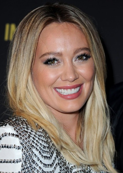 Hilary Duff as Sarah David-Wilkerson in Marley in the Middle- Malcolm in the Middle spin-off
