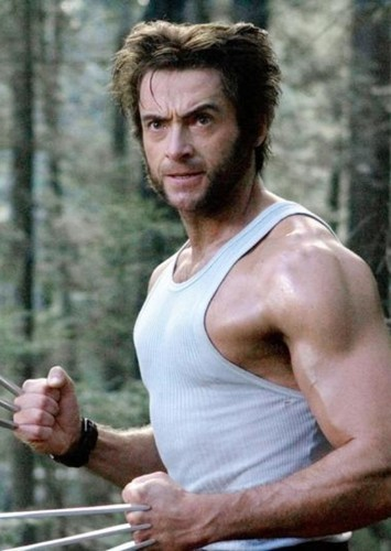 Hugh Jackman as Logan (Wolverine) in All Superheroes and Villains (DC, Marvel, & Dark Horse Comics)