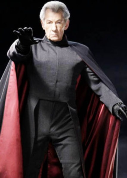 Ian McKellen as Erik Lehnsherr (Marvel) in Superheroes and Supervillains