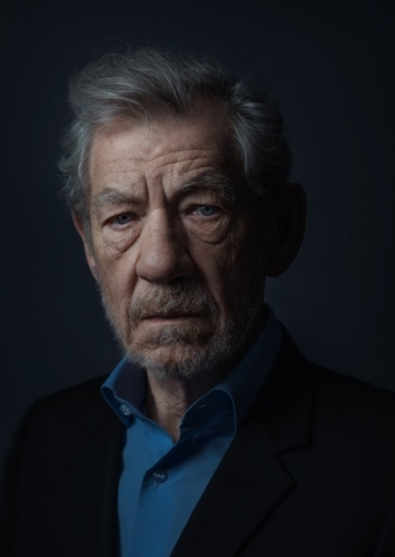 Ian McKellen as Alfred Pennyworth in The Dark Knight Returns