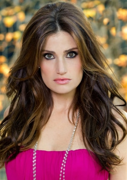 Idina Menzel as Mrs. Teavee in Willy Wonka & the Chocolate Factory