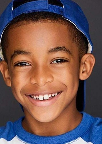 Isaiah Russell-Bailey as Grover Underwood in Percy Jackson Live-Action TV Series on Disney +