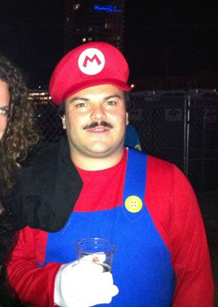 Jack Black as Super Mario in Super Smash Bros. Universe
