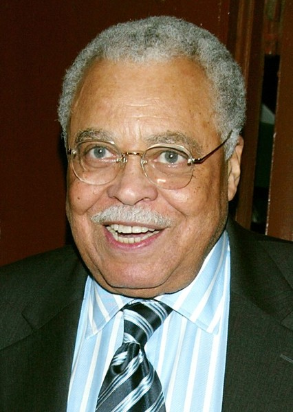 James Earl Jones as Amun-Ra in Solar Smash