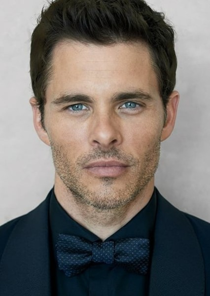 James Marsden as Howard Stark in Captain America the first avengers (2001)