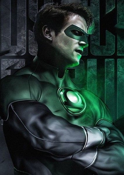 James Marsden as Green Lantern in Fancast Your DC Universe