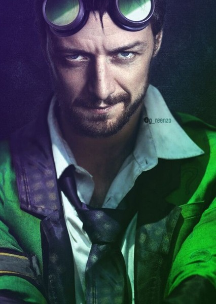 James McAvoy as Edward Nygma in New DC universe
