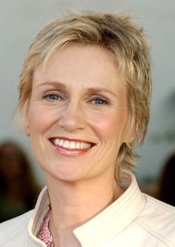 Jane Lynch as Hillary Rodham Clinton in 2016
