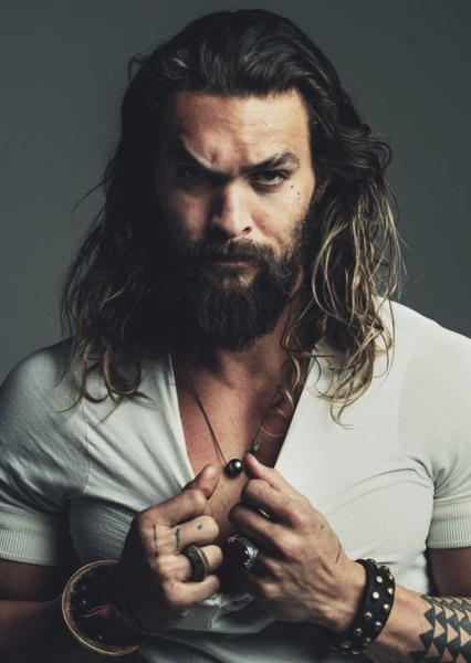 Jason Mamoa as Poseidon in Percy Jackson: Heroes of Olympus (fan cast)