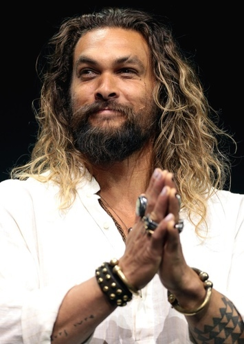 Jason Momoa as Aquaman in Injustice Gods Among Us
