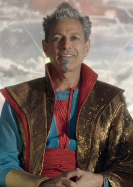 Jeff Goldblum as Grandmaster in Thor: Love and Thunder