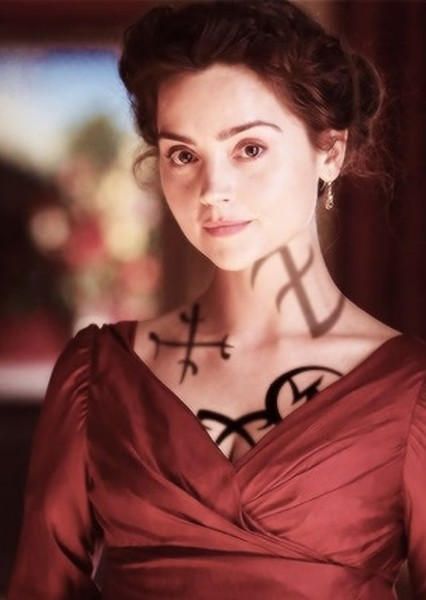 Jenna Coleman as Charlotte Branwell in The Infernal Devices (trilogy)