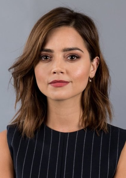 Jenna Coleman as Clara Oswin Oswald / Miss Montague in Doctor Who: Alternative Series 7.5-10