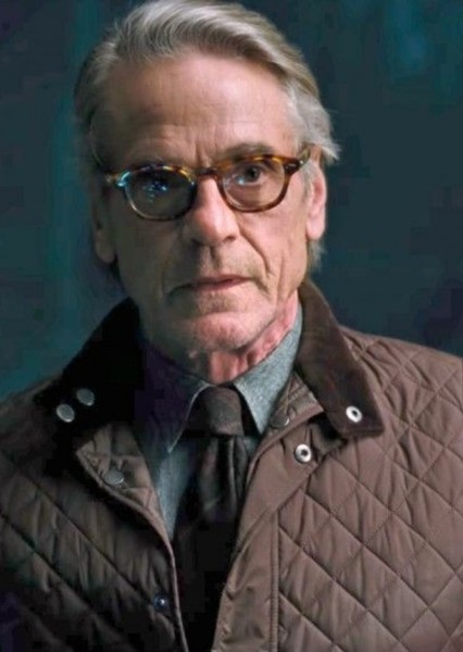 Jeremy Irons as Alfred Pennyworth in Gotham City Sirens