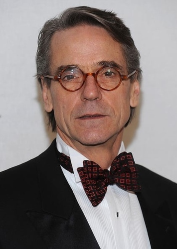 Jeremy Irons as President Snow in Hunger games reboot