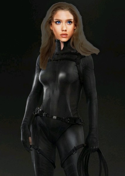 Jessica Alba as Black Widow in Marvel Ultimate Alliance