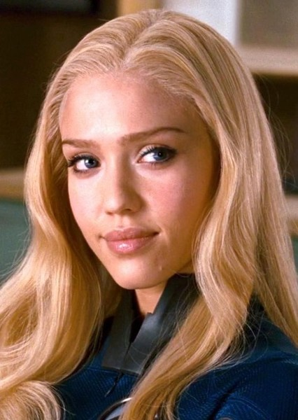 Jessica Alba as Sue Storm in Infinity Crisis