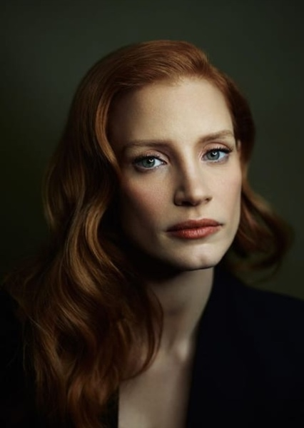 Jessica Chastain as Hestia in The Rise of The Gods Season One