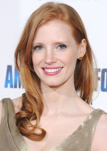 Jessica Chastain as Pepper Potts in Alternate Marvel Cinematic Universe