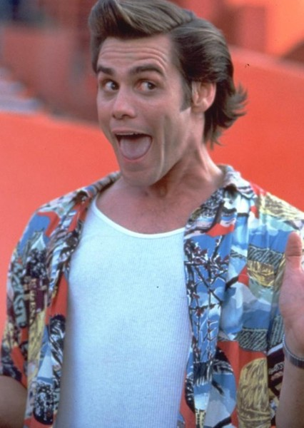 Jim Carrey as Ace Ventura in Ernest and Ace Ventura