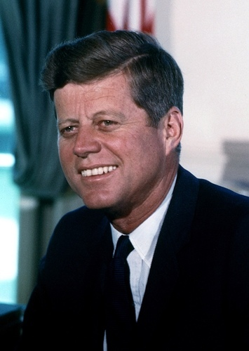 John F. Kennedy as John F. Kennedy in 11/22/63