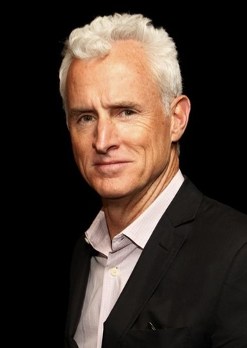John Slattery as Vilos Cohaagen in Total Recall (2020)