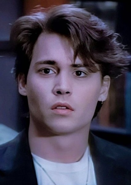 Johnny Depp as Klaus Hargreeves in The Umbrella Academy ('90s)