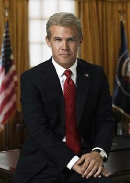 Josh Brolin as Richard Nixon in The Watchmen