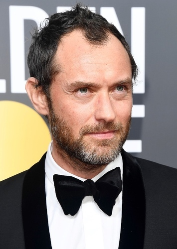 Jude Law as Ambrosius Goldenloin in Nimona