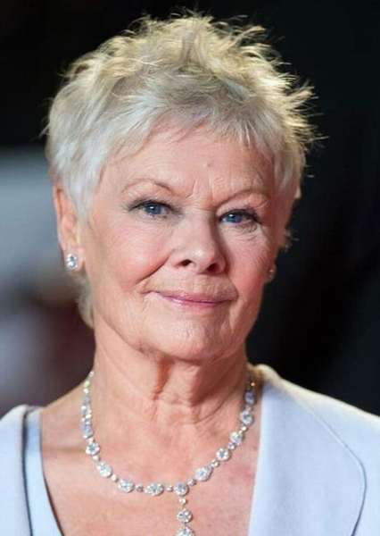 Judi Dench as Future Lorraine Baines McFly in Back to the Future: The Series (Season 2)