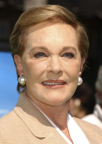 Julie Andrews as Madame Web in Spider-Man: spider-verse