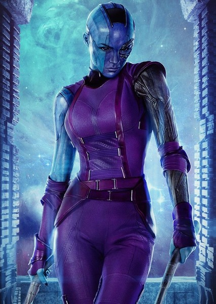 Karen Gillan as Nebula in Thor: Love and Thunder