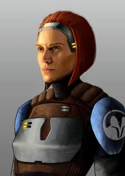 Katee Sackhoff as Bo-Katan Kryze in Star Wars: The Siege Of Mandalore (Live Action)