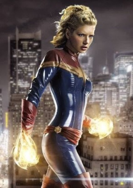 Katheryn Winnick as Captain Marvel in Alternate Marvel Cinematic Universe