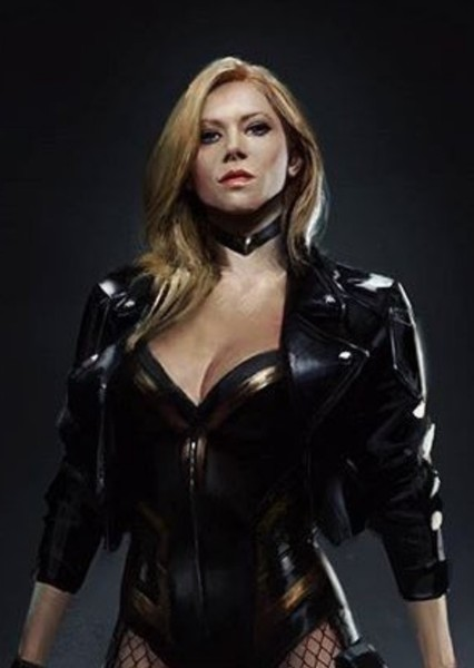 Katheryn Winnick as BLACK CANARY in Justice League : Final Crisis