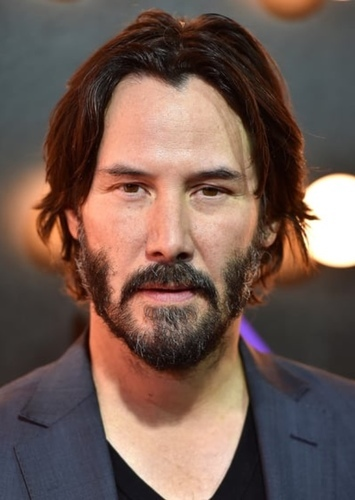 Keanu Reeves as The Silver Surfer in Doctor Doom (Spin Off Movie)