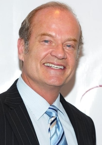 Kelsey Grammer as Hourglass in Superhero Movie (Done Differently)