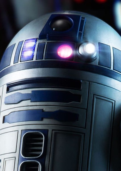 Kenny Baker as R2-D2 in George Lucas' Star Wars Sequel Trilogy