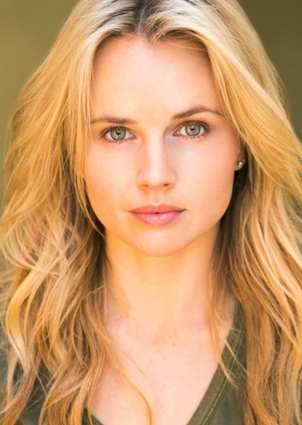 Kimberley Crossman as Red Ranger in Power Rangers Samurai: Shattered Grid