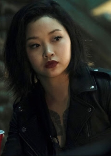 Lana Condor as Sandy in My Batgirl Pitch