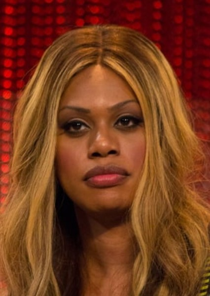 Laverne Cox as Arachne in The Mechanisms