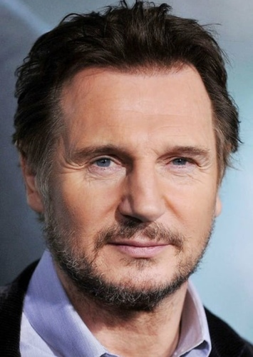 Liam Neeson as Axel Mortmain in The Infernal Devices Trilogy