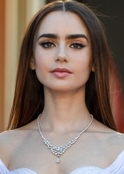 Lily Collins as Audrey Hepburn in Actor Biopics