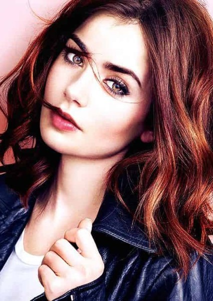 Lily Collins as Clary in The Mortal Instruments